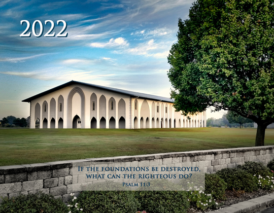 2020 Foundations Calendar