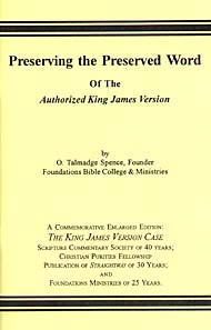 Preserving the Preserved Word